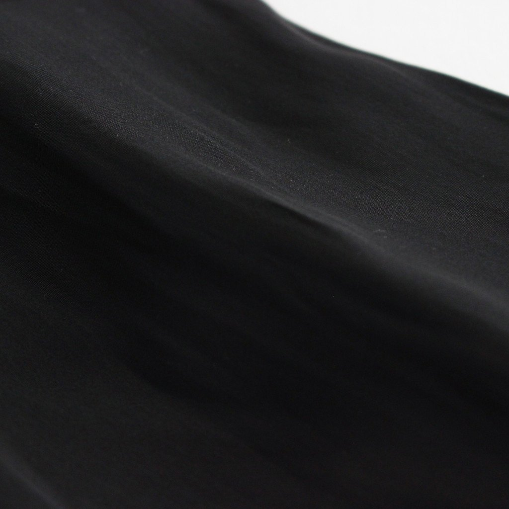 サテンイージーパンツ #BLACK [TBAS-414]