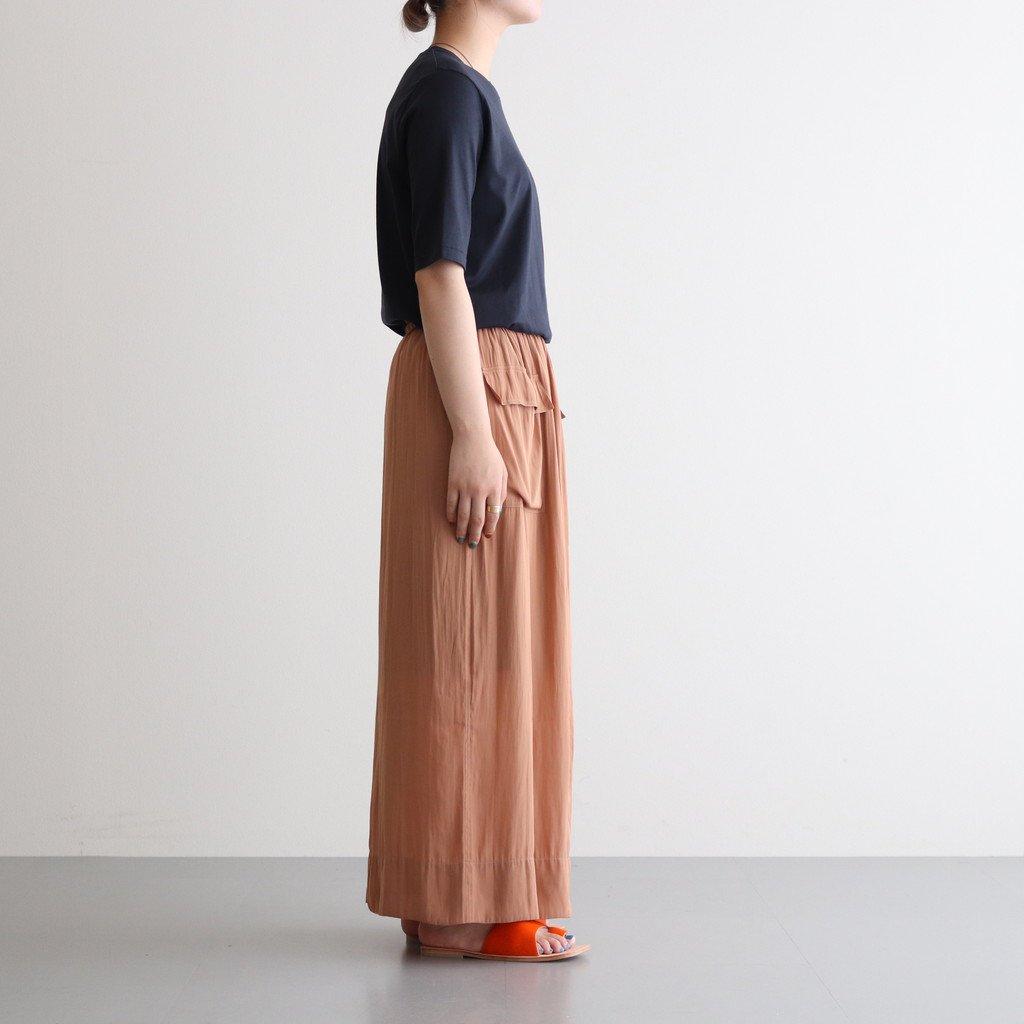 サテン3WAYスカート #BEIGE [TBAS-413]
