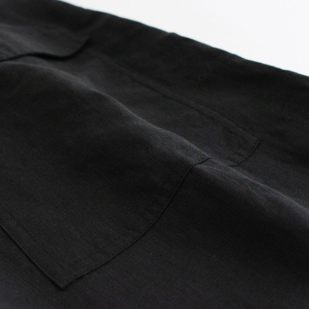 ミリタリーパンツ #BLACK [TBAS-408]