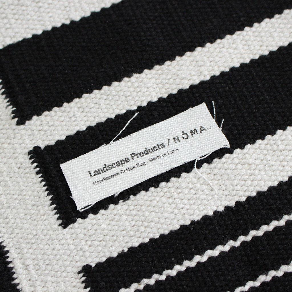 WITH NOMA T.D. HAND WOOVEN RUG S #WHITE [LSCS-001-01]