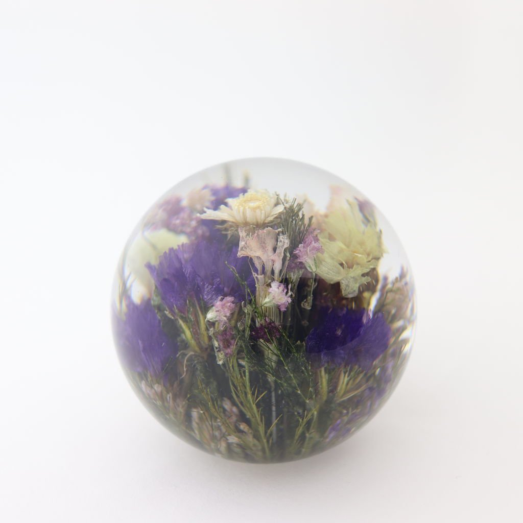 HAFOD GRANGE - PAPER WEIGHT SMALL MIXED FLORA #ONE [HGPW1-010]