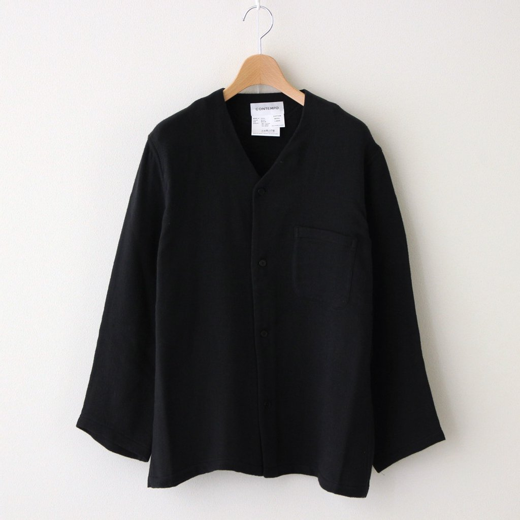 PAJAMA SHIRT #BLACK [01914]