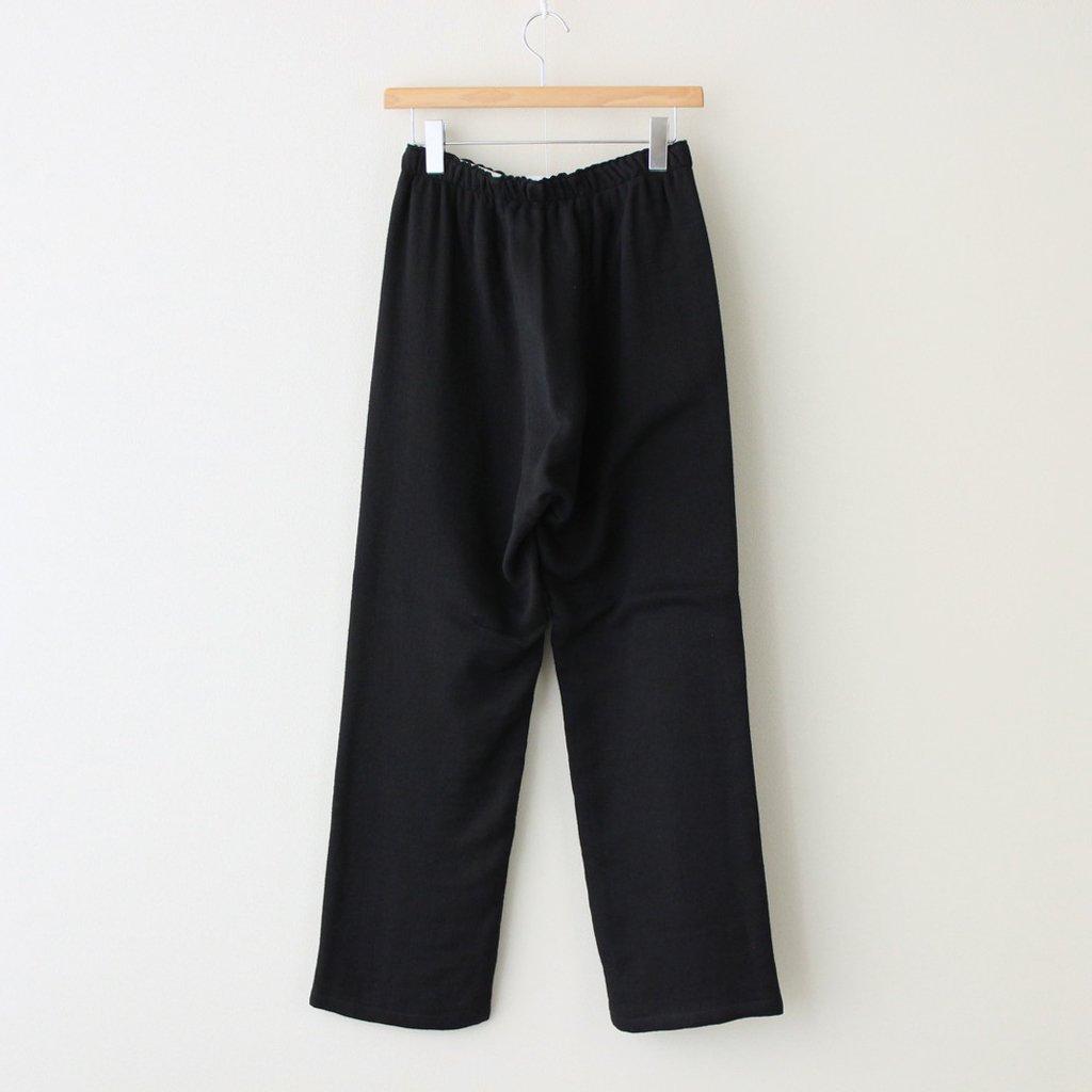 PAJAMA PANTS #BLACK [01916]