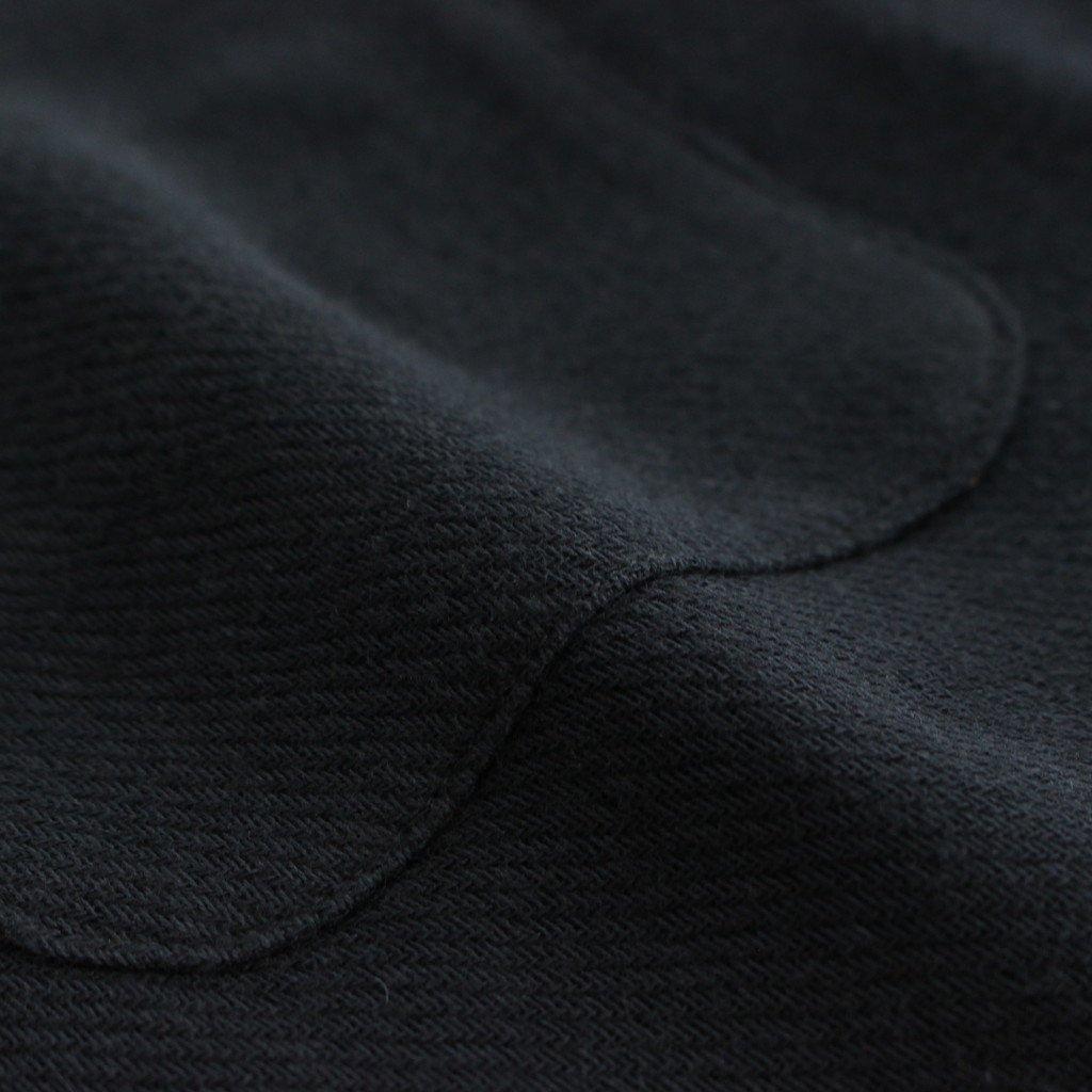 PAJAMA SHIRT #BLACK [51914]