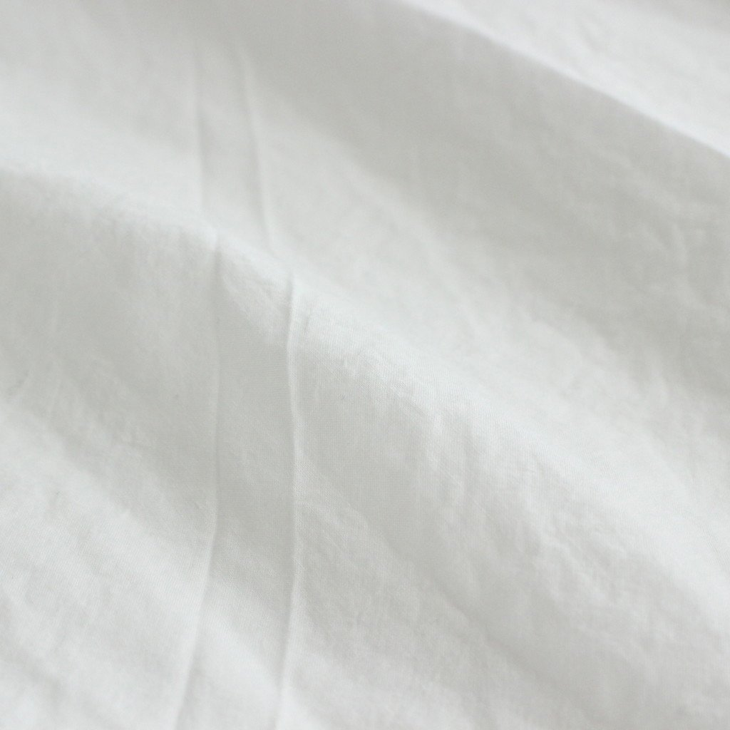 GATHERED BLOUSE #WHITE [91111]