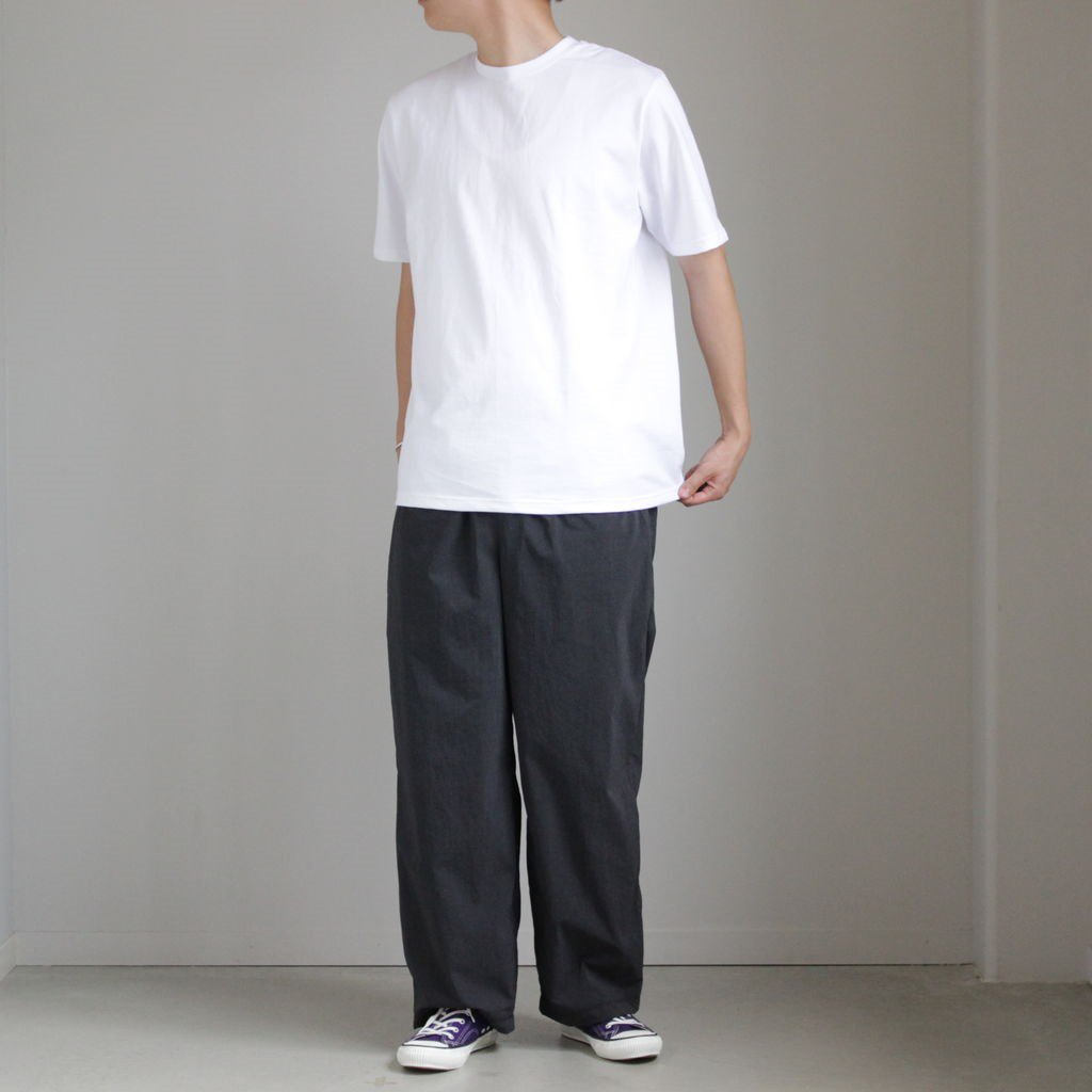 2-PACK CREW NECK TEE #WHITE [GU212-70185B]