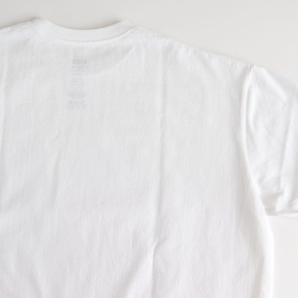 S/S OVERSIZED TEE #WHITE [GU212-70189B]