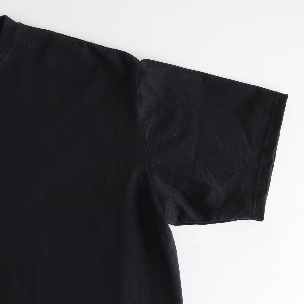 S/S OVERSIZED TEE #BLACK [GU212-70189B]