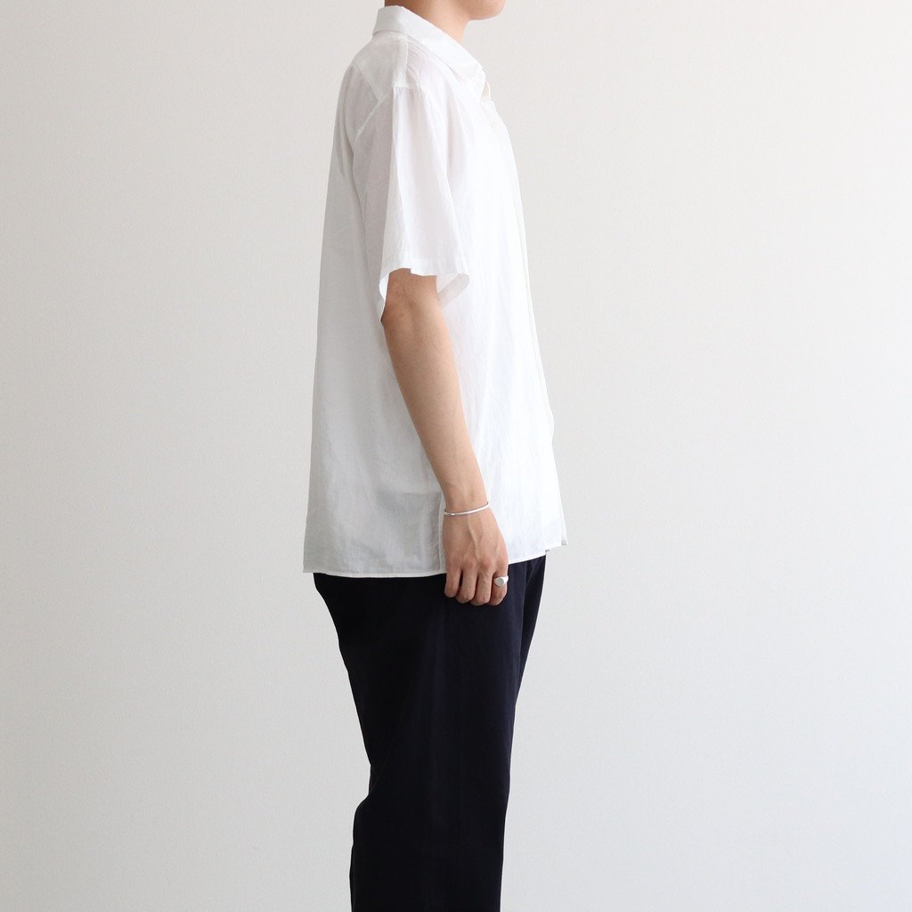 COMFORT SHIRT WIDE SQUARE S/S #WHITE [11135]