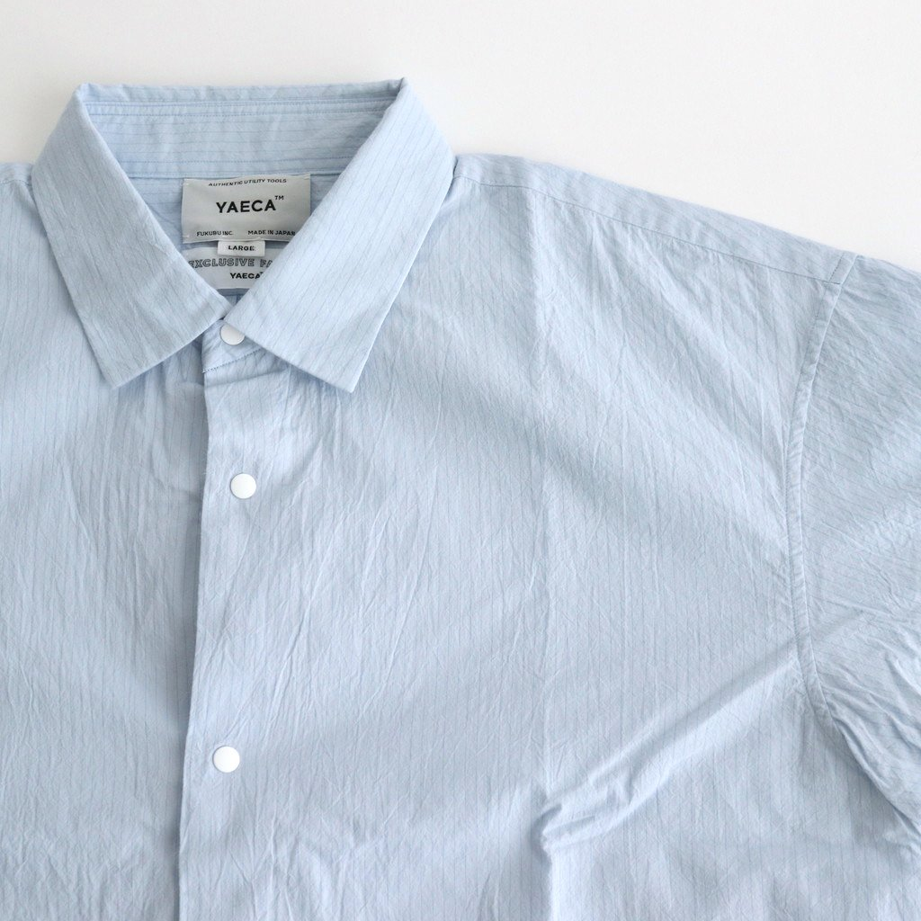 COMFORT SHIRT WIDE SQUARE S/S #SAX-ST [11135]