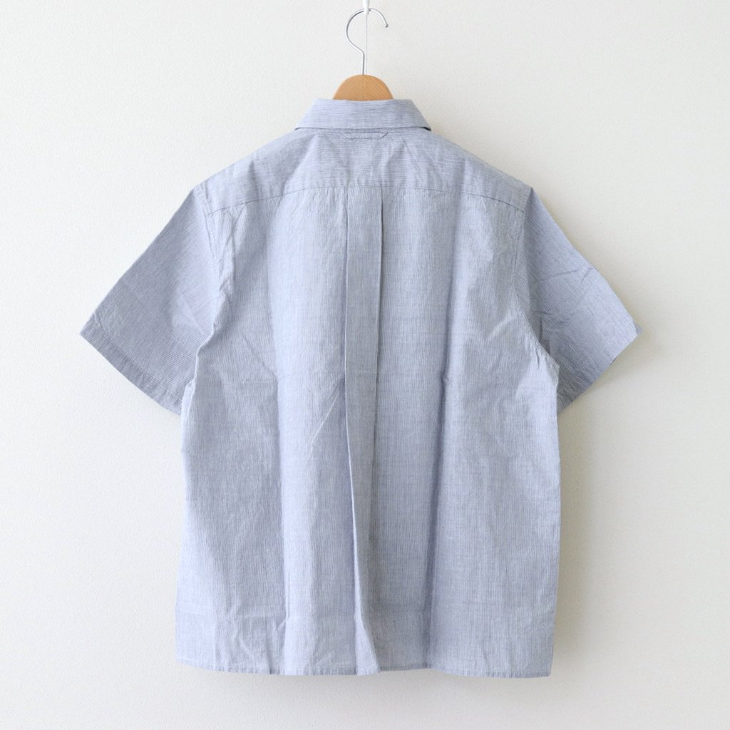 COMFORT SHIRT WIDE SQUARE S/S #BLUE-ST [11136]