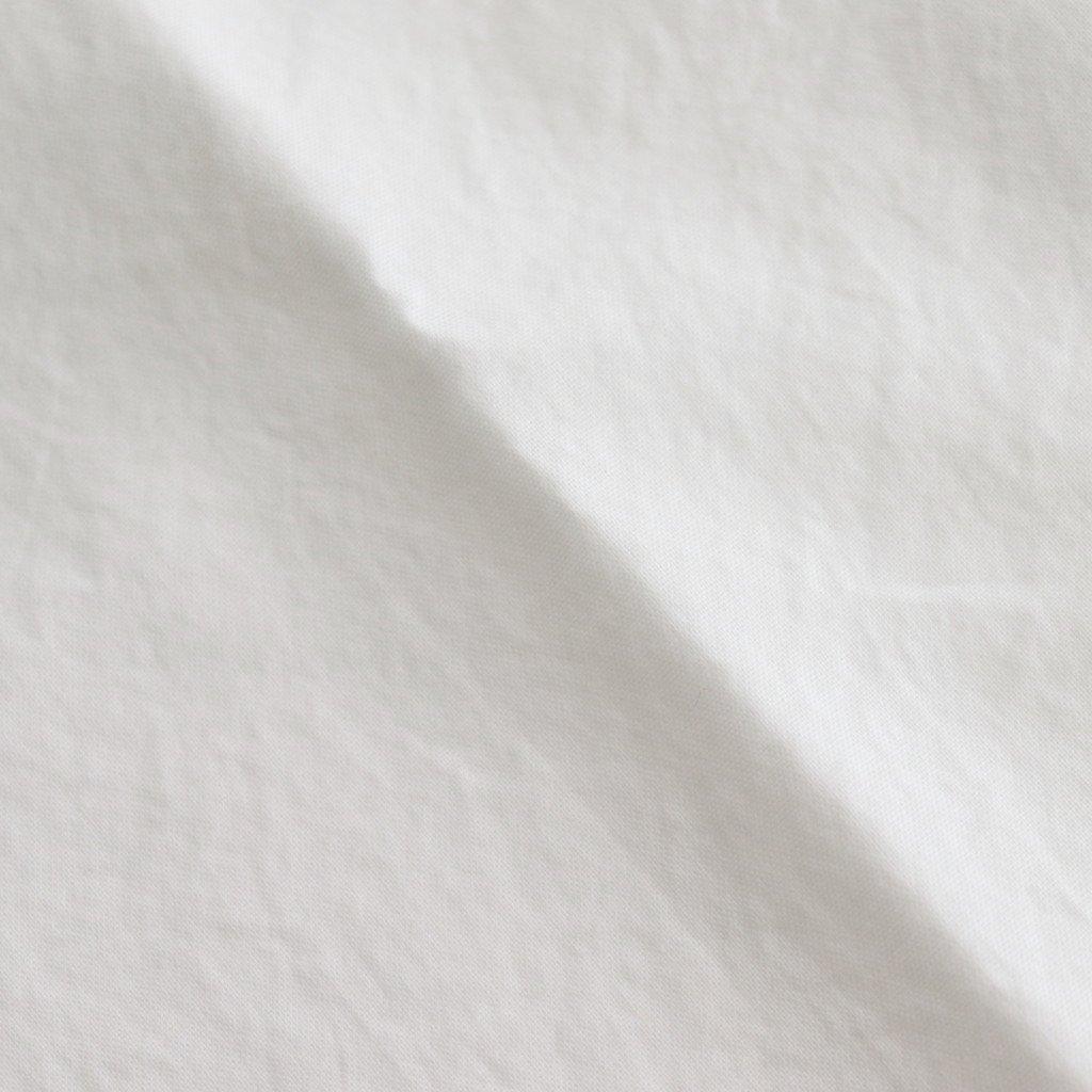 COMFORT SHIRT RELAX SQUARE S/S #WHITE [61125]