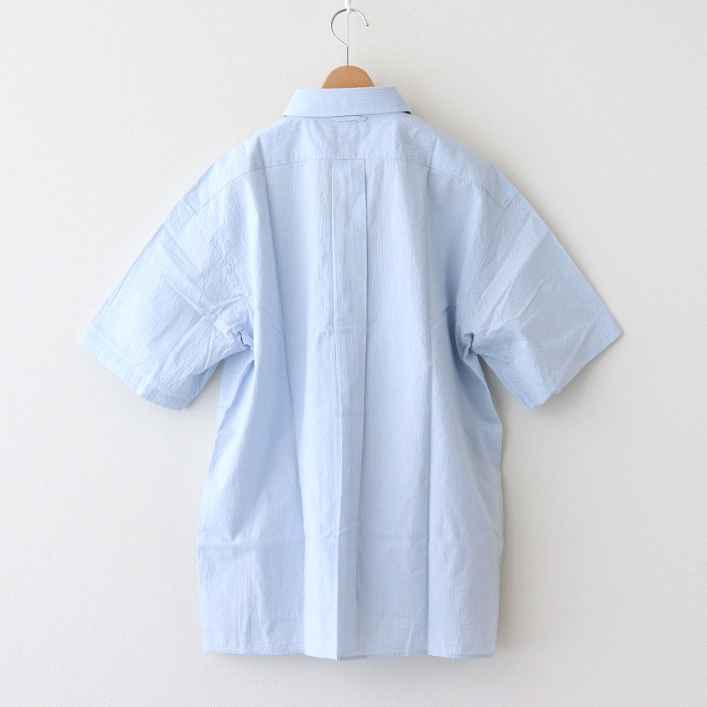 COMFORT SHIRT RELAX SQUARE S/S #SAX-ST [61125]