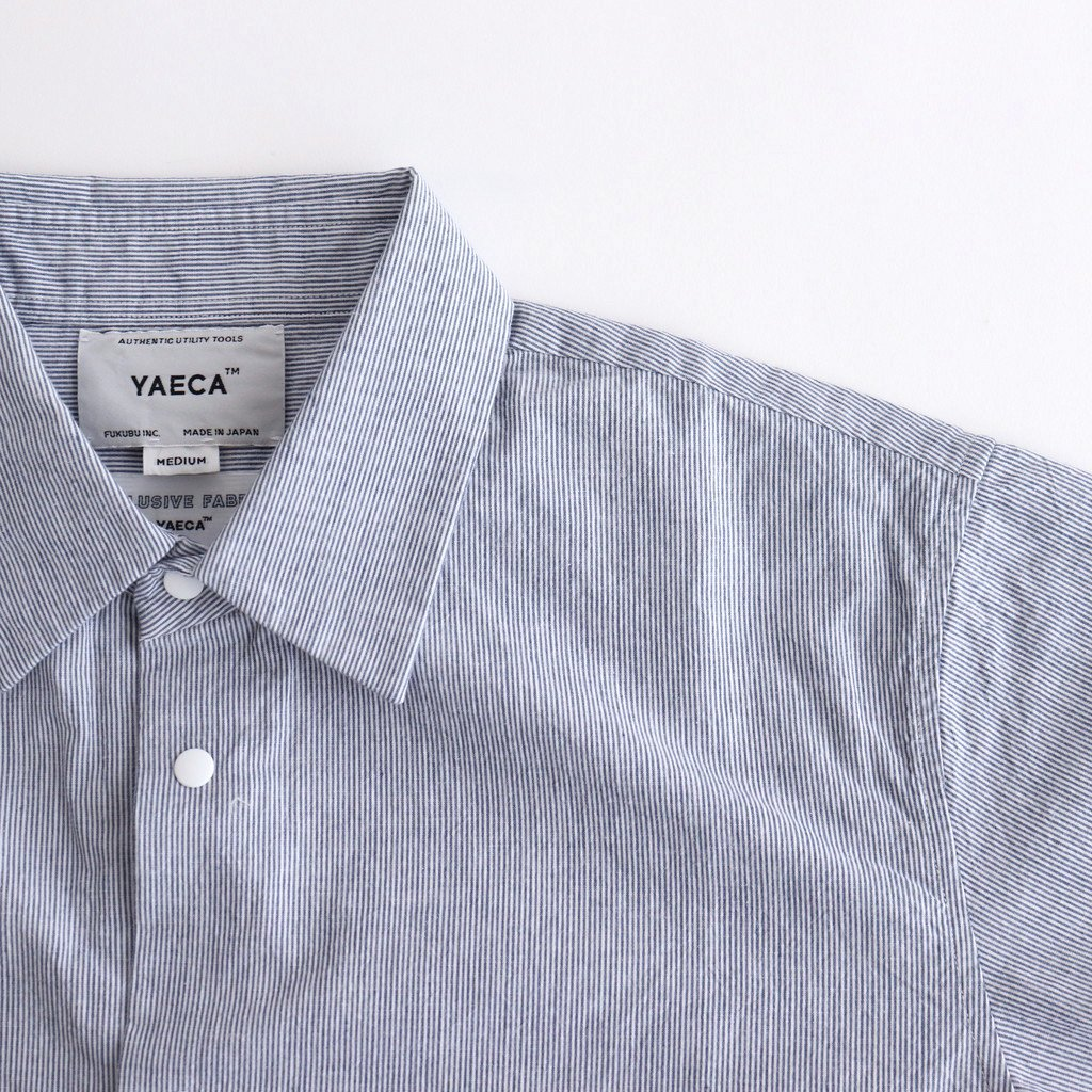 COMFORT SHIRT RELAX SQUARE S/S #BLUE-ST [61126]