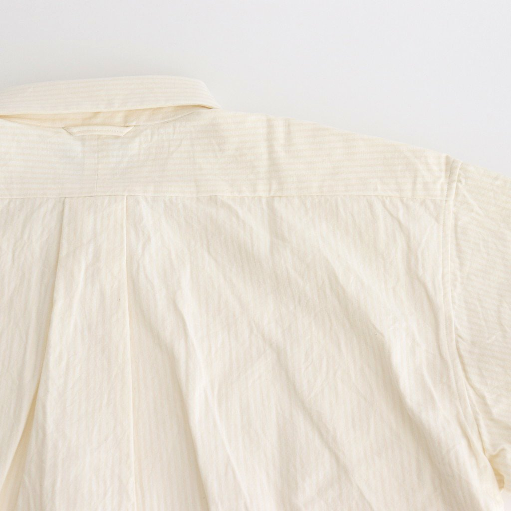 COMFORT SHIRT RELAX SQUARE S/S #NATURAL-ST [61127]