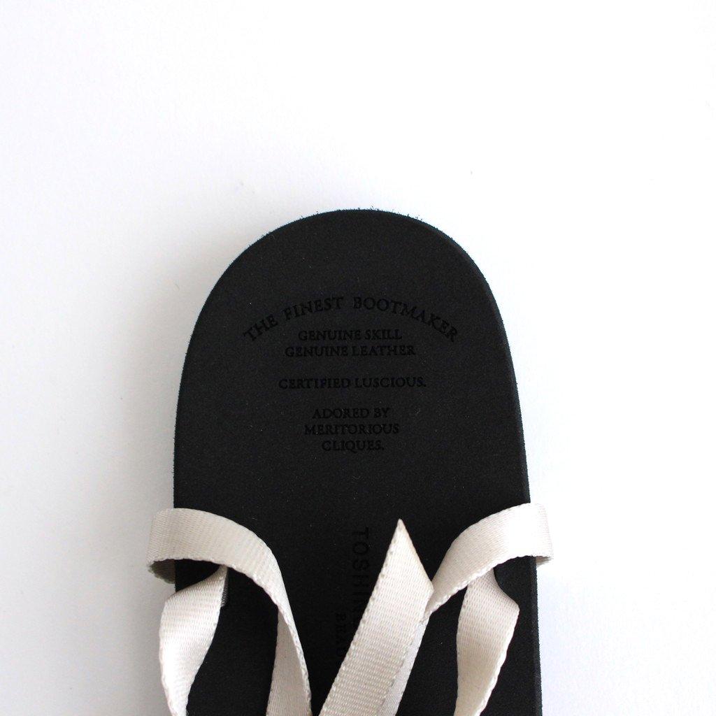 BAREFOOT SANDALS #IVORY [BSS1812006]