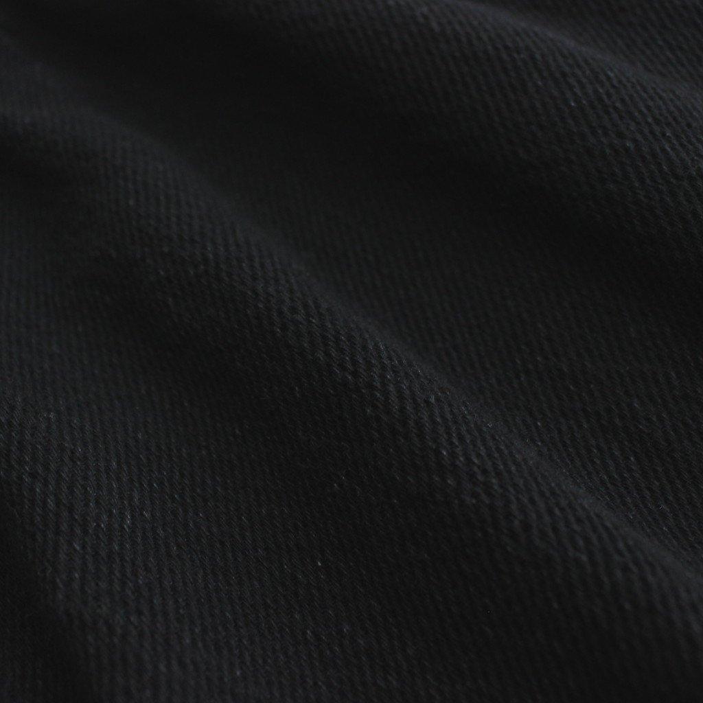 FASTPT | ルーズドビーツイルデニム ワイドミリタリーパンツ #BLACK BIO [CW_FR044PF]