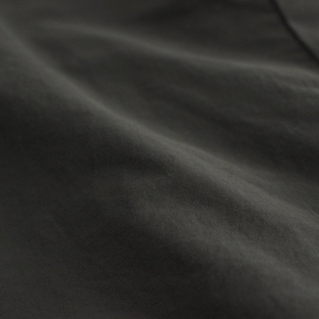 FSSCT|ナイロンタッサー/ガーメントダイ スタンドカラーリバーシブルオーバーコート #ELEPHANT GREY [CW_FR103CT]