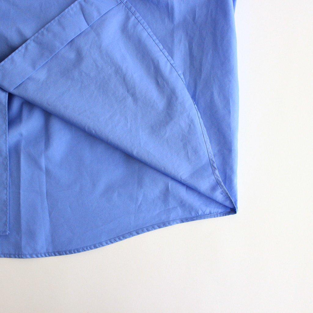 BROAD L/S REGULAR COLLAR SHIRT #BLUE [GM213-50108B]