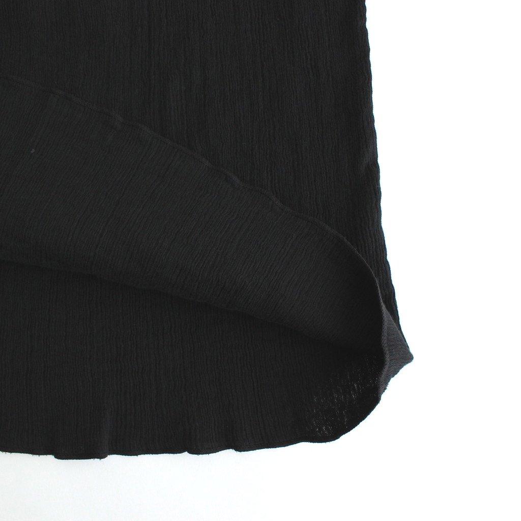WRAP SKIRT #BLACK [01618]