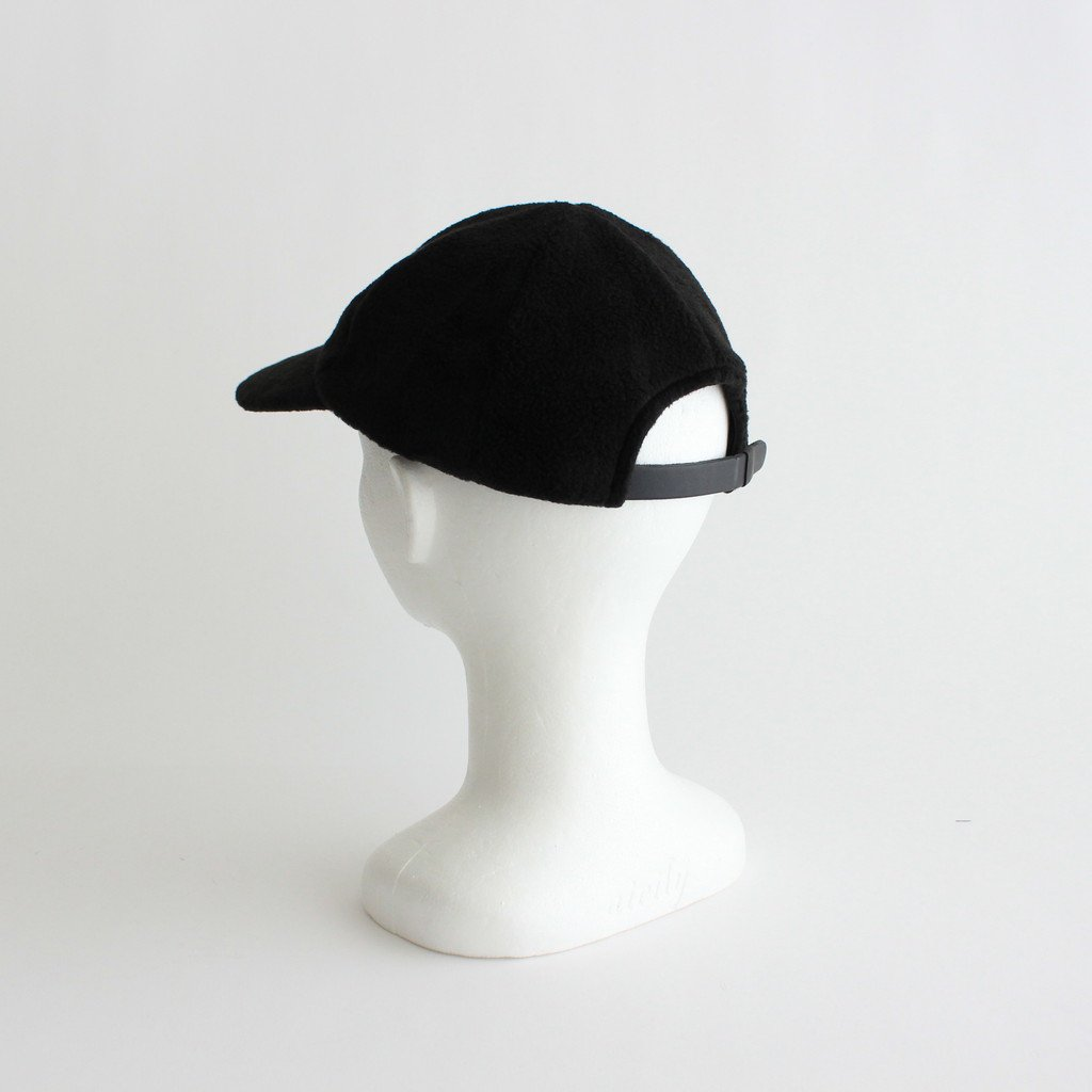 FLEECE CAP #BLACK [NO.19734]