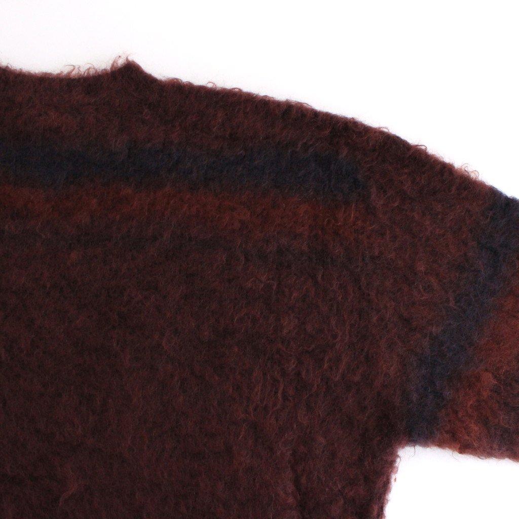 ROTHKO BORDER CREW NECK #ORANGE [YK21AW0283S]