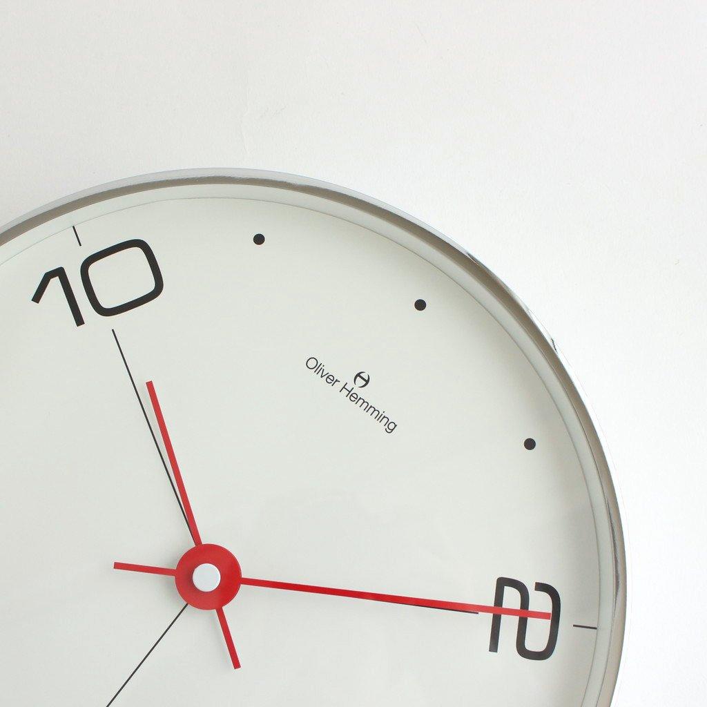 OLIVER HEMMING - ウォールクロック 30CM #W300S14WTR [OHG030032]