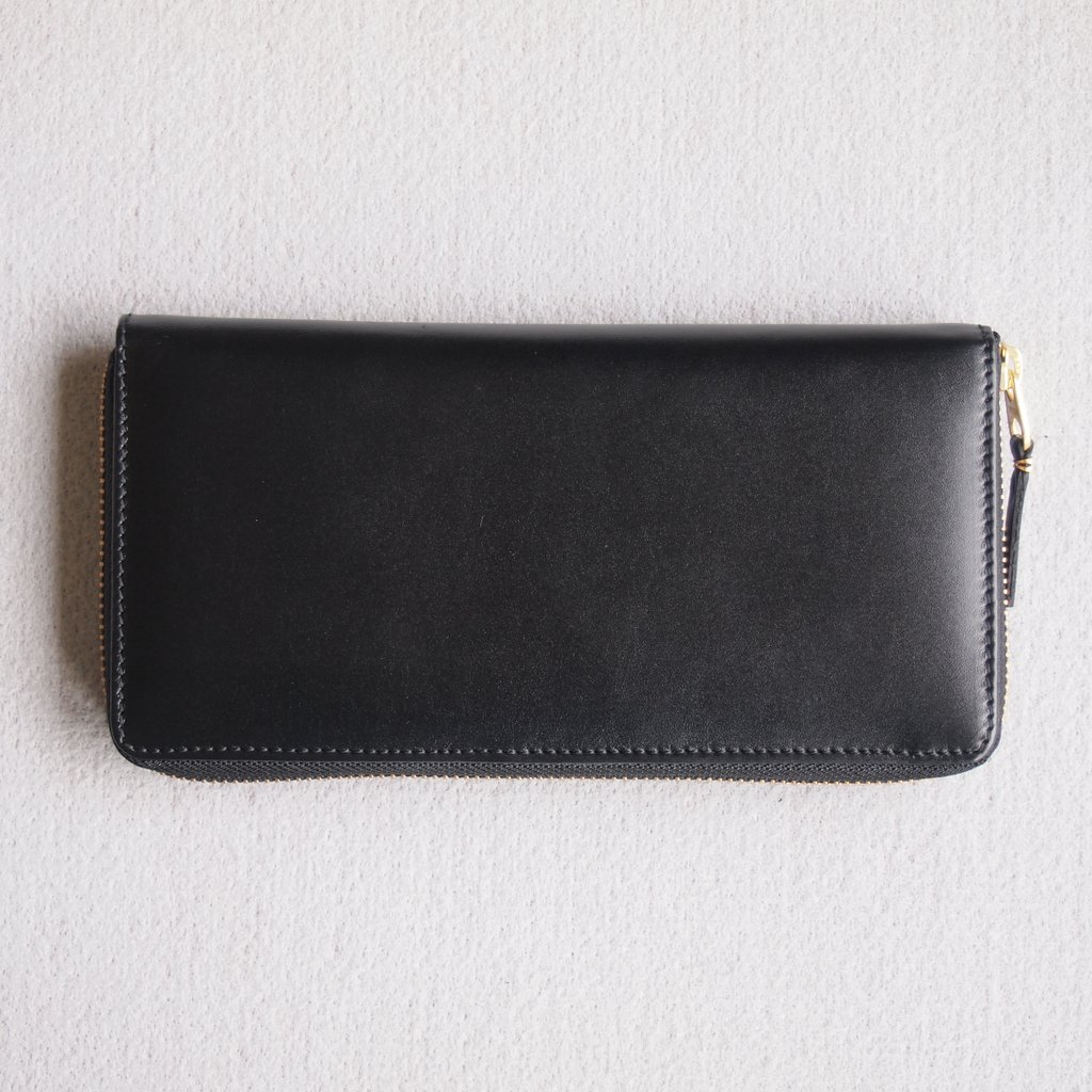 Wallet COMME des GARCONS | ウォレット コム デ ギャルソン 二つ折りZIP長財布 SA0110 #BLACK/CLASSIC LEATHER [8Z-D011-051-1]