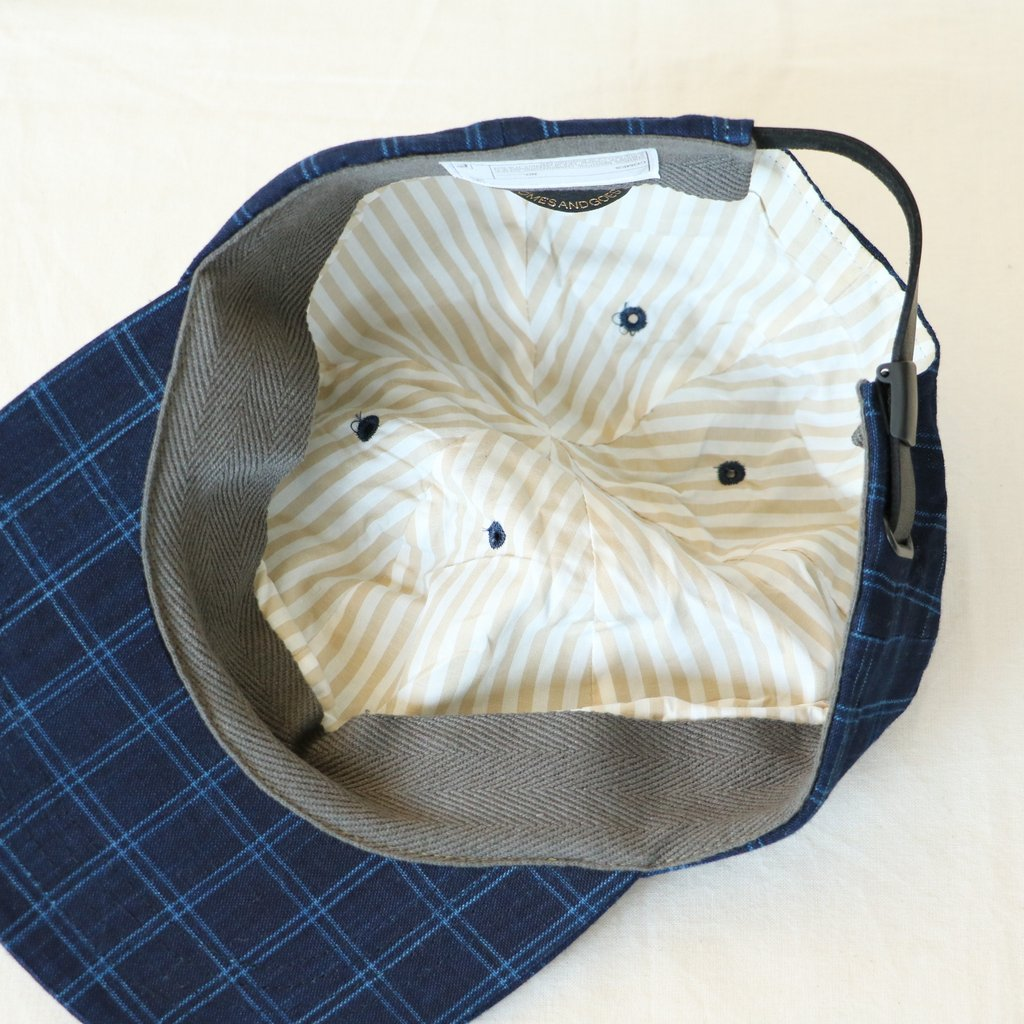UNIFORM CAP - 松阪木綿 #SMALL CHECK