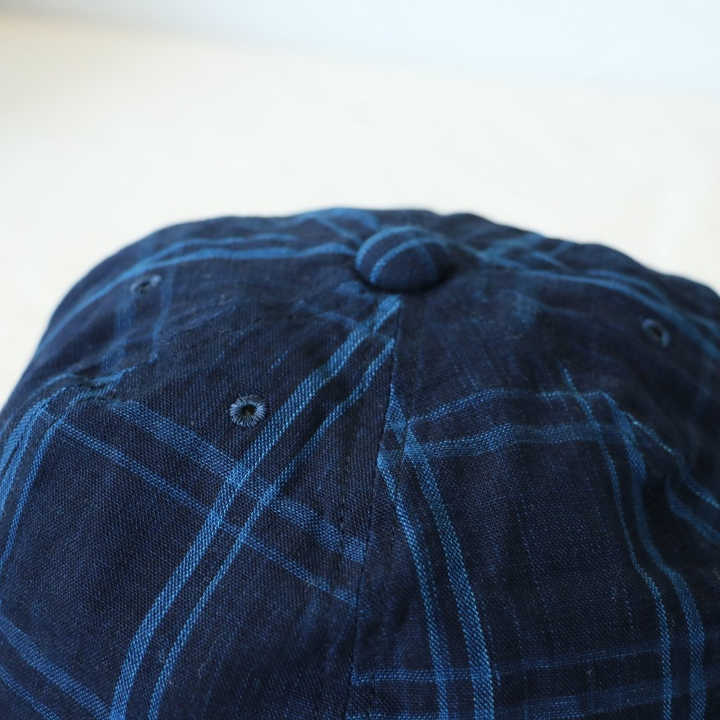 UNIFORM CAP - 松阪木綿 #BIG CHECK