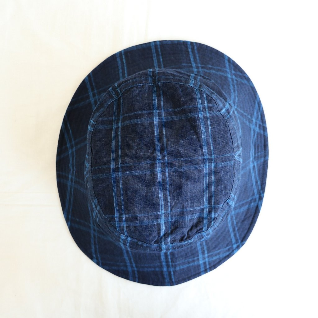 BUCKET HAT - 松阪木綿 #BIG CHECK