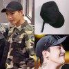 ロングベルト キャップ ブラック ユニセックス フリーサイズ  韓国ファション