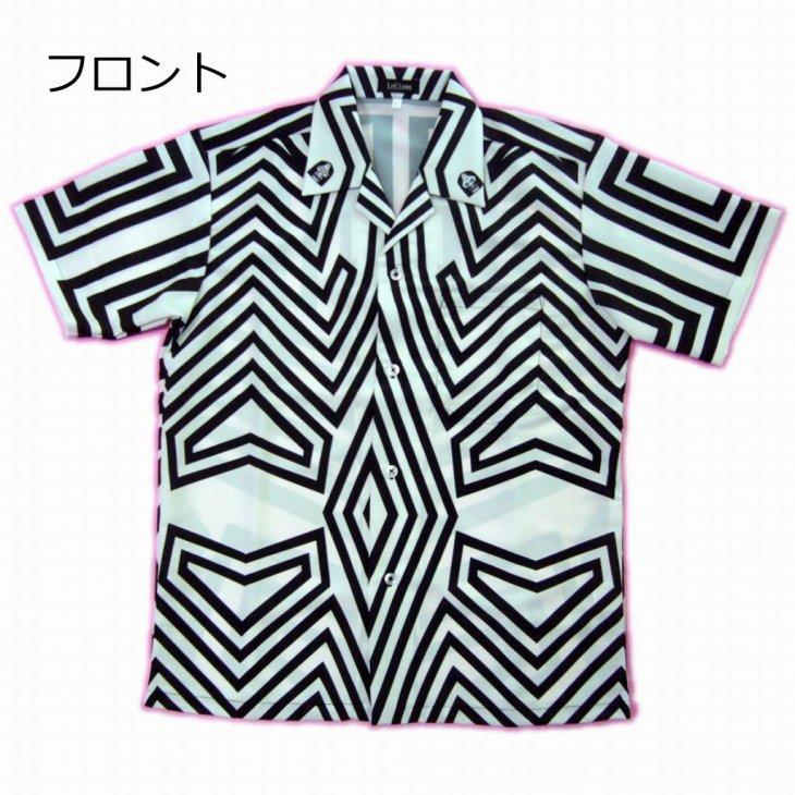 ウルトラマンコラボ商品 ダダ柄アロハシャツ UTM-02