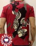 参丸一 サンマルイチ|江戸っ子「てやんでい!」半袖Tシャツ ST-89002 黒/白