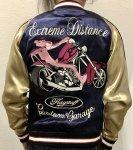 FLAG STAFF フラッグスタッフ|ピンクパンサーバイク刺繍リバーシブルスカジャン 493025