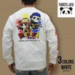 パンディエスタ| 熊猫印 PAINT IT PDJ ロングスリ−ブTシャツ 530835