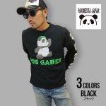 パンディエスタ| 熊猫印 PDJ GAMES ブロックラバー ロングスリーブTee 530101