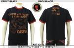 【テンストライク/TEN STRIKE】キャスパー・ウィンディ抜染プリント半袖Tシャツ ART-121