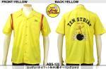 【テンストライク/TEN STRIKE】レッディキロワット刺繍ボーリングシャツ ABS-122