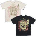 【紅雀】不動明王/仏像Tシャツ TS-40 白/黒