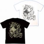 【紅雀】水滸伝武松/人物Tシャツ TS-22 白/黒