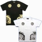 【紅雀】巴虎/聖獣Tシャツ TS-20 白/黒