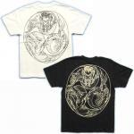 【紅雀】巴火龍/刺青風Tシャツ TS-32 白/黒