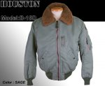 【HOUSTON/ヒューストン】B-15D/フライトジャケット/B-15D FLIGHT JACKET 品番5003