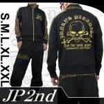 【JP2nd】エンジェルクロス柄刺繍セットアップ 品番2SU-302 色ブラック