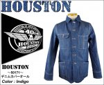 【HOUSTON/ヒューストン】デニムカバーオール 品番50171