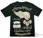 【Flag Staff/フラッグスタッフ】スカル刺繍半袖Tシャツ  452559