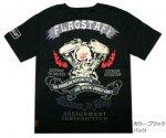 【Flag Staff/フラッグスタッフ】スカルモータサイクル半袖Tシャツ  452552