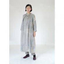 new! ワークドレス Linen 100%