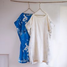 2Way Dress ワンピース _ Wガーゼ